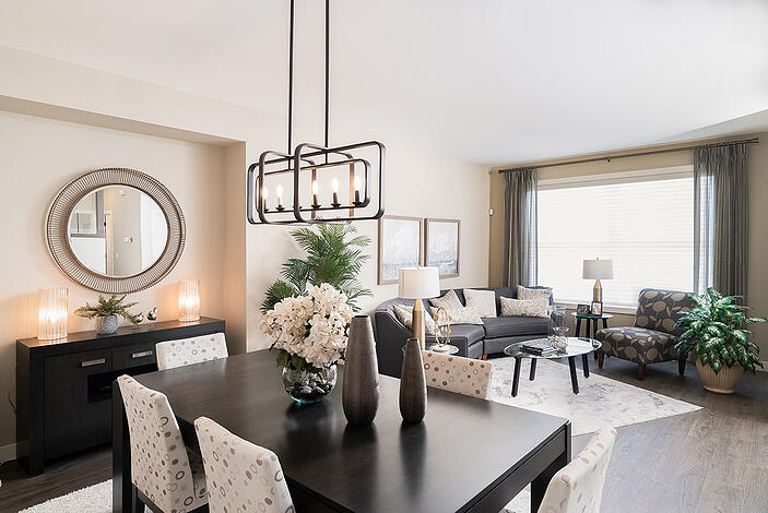 Santa-Monica--Dining-Living-Room