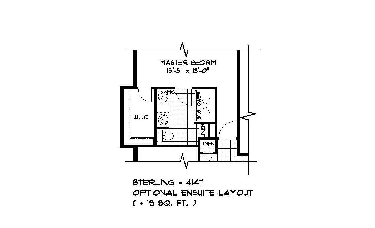 edit - PLAN OPT ENSUITE LAYOUT 4147-20