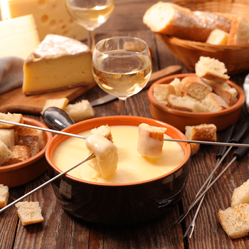 Deliciously Easy New Year's Appetizers Fondue Image