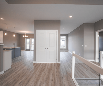 Home Model Feature: The Ashton Unstaged Main Floor Image