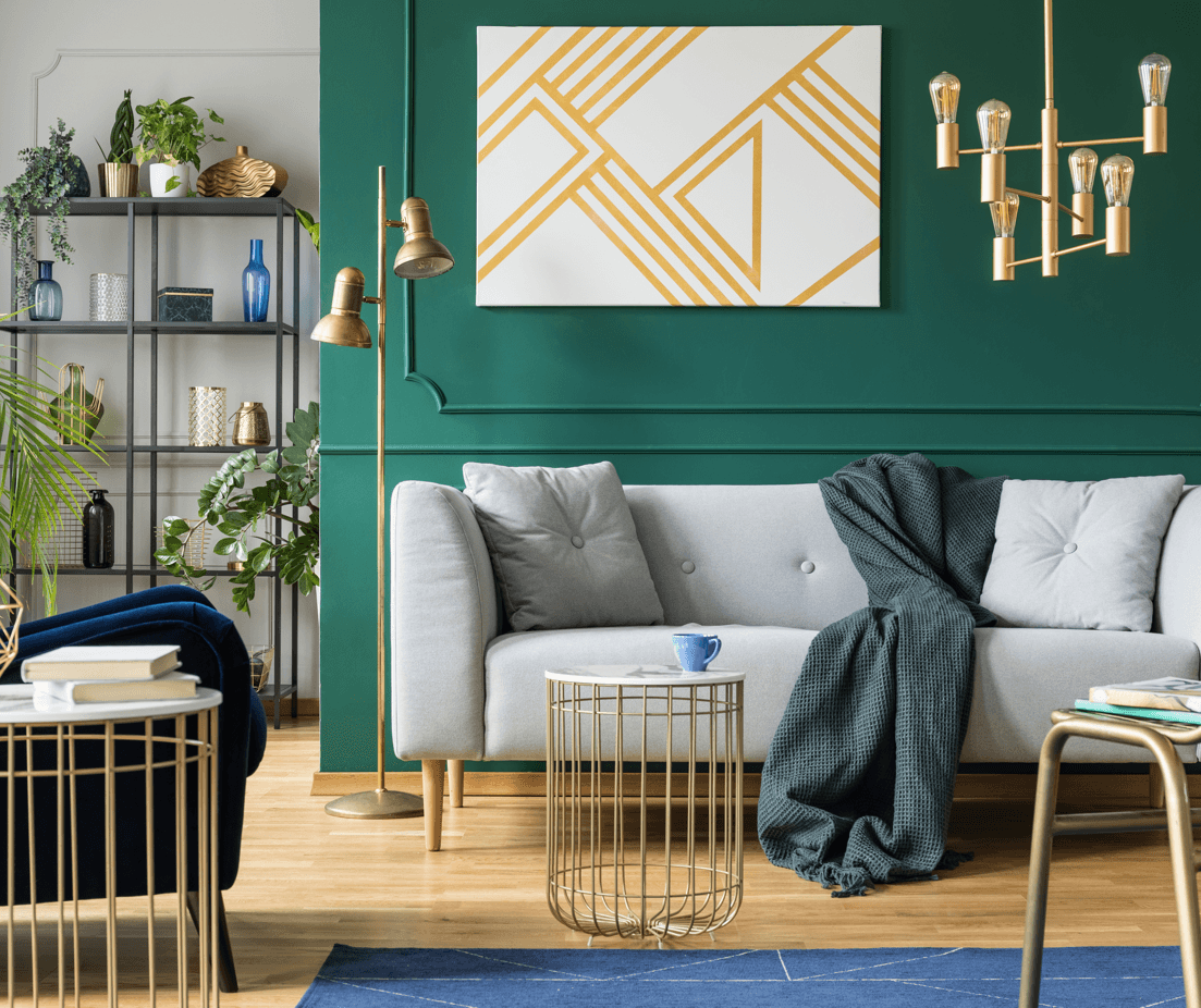 Home Decor Ideas Filled with Hollywood Glamour Golden Touches Image