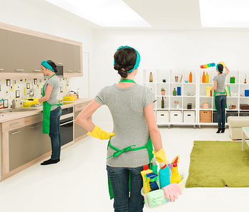 15 Minutes a Day = An Impeccably Clean Home Cleaning Service Image