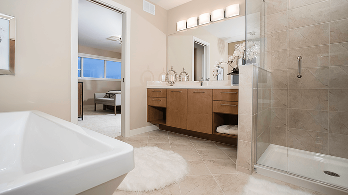 What Is a Show Home Exactly? Ensuite Image