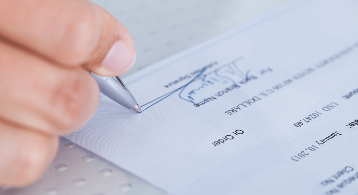 Landlords in Winnipeg: Tenant Responsibilities Cheque Image