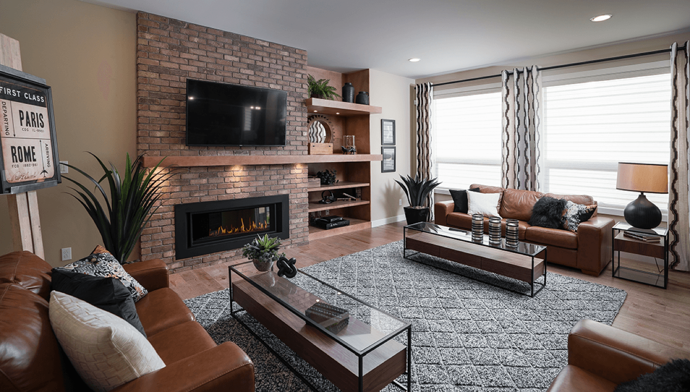 6 Reasons Why Winter Is a Great Time to Buy a Home Living Room Image